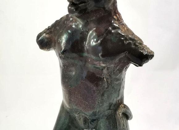 Statue Minotaure émail réduit