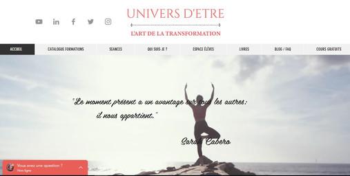 UNIVERS D'ETRE