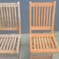Le Décapage Rénovation chaise teck et mo