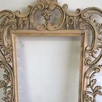 decapage encadrement decoration miroir f