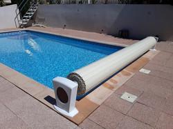 Volet piscine hors sol
