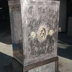 décapage sablage objet ancien coffre mét