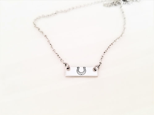 Lucky Bar Necklace