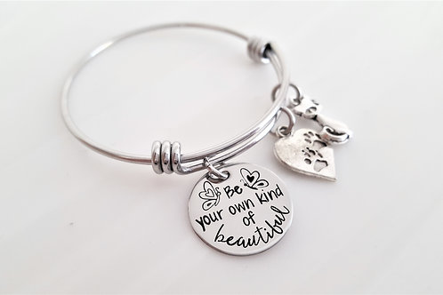 Three Charm Bangle
