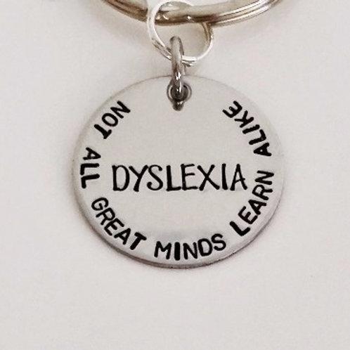 Dyslexia Keychain