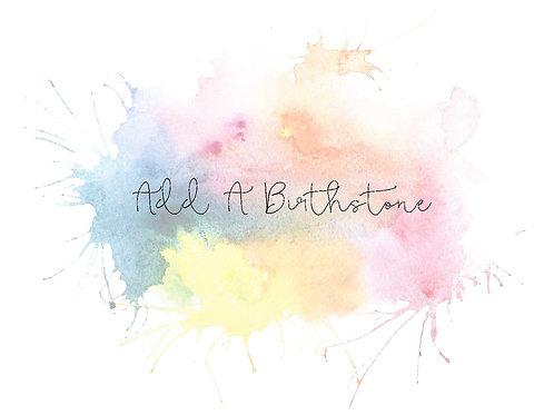 Add an Extra Birthstone