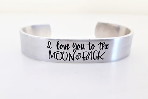 "1/2"" I Love You To The Moon"