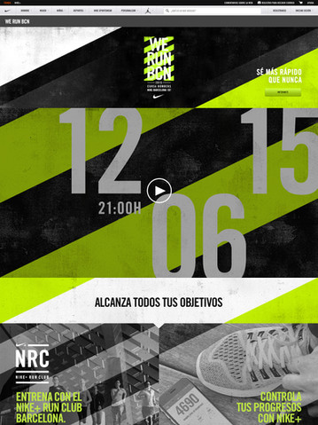 Nike Running - We Run Barcelona HUB