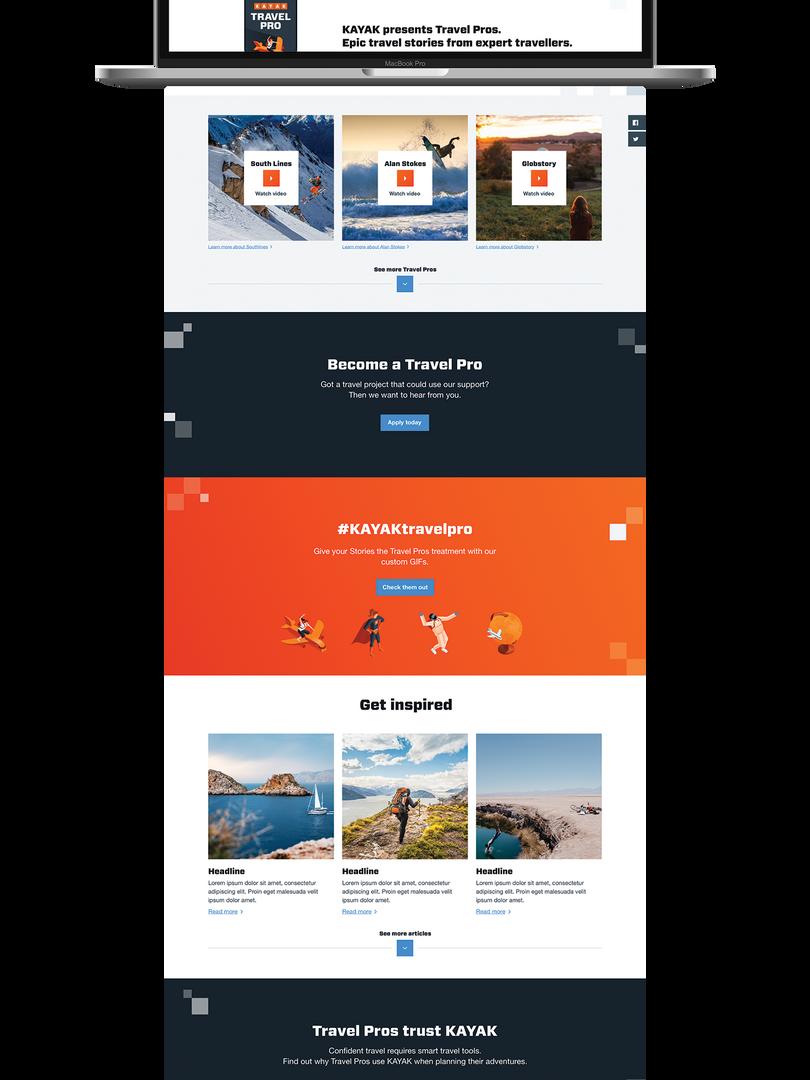 Travel Pros HUB - Desktop
