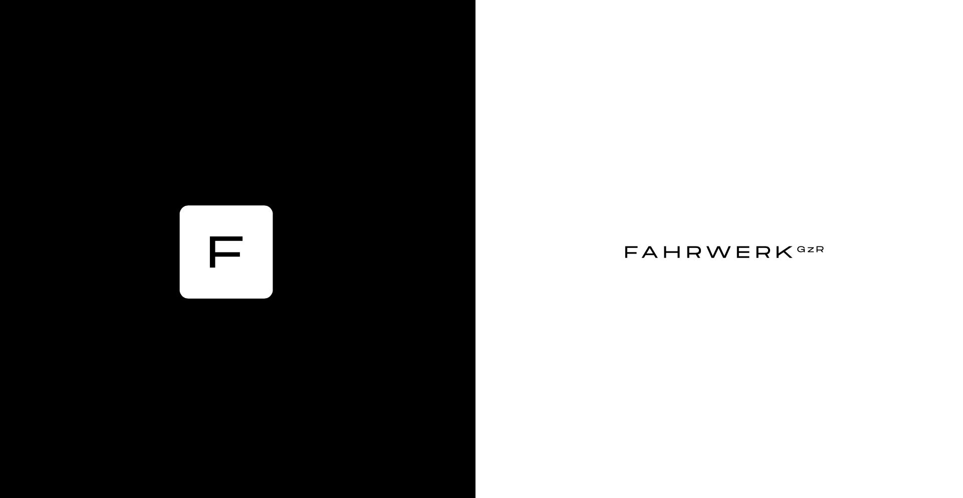 FAHRWERK GzR Logo and CI