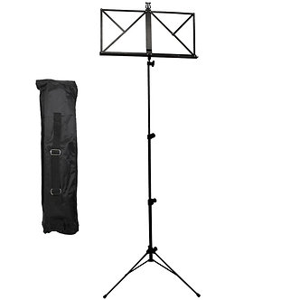 Rocket Folding Music Stand - Black