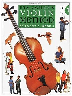 Eta Cohen - Violin Method Book 1