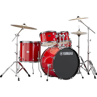 "Yamaha 22"" Rydeen Rock Drum Kit in Red"