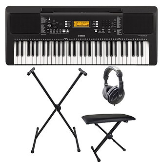 Yamaha PSRE363 Portable Keyboard Package
