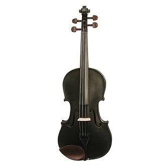 Stentor 1401 Harlequin 4/4 Size Violin - Black