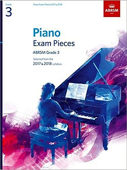 ABRSM Piano Grade 3 Set (Selected from the 2017 & 2018)