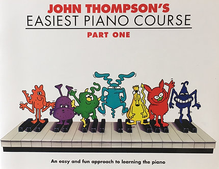 John Thompson Easiest Piano Course Part One