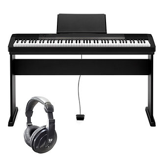 Casio CDP-130 Digital Piano with Stand and Headphones