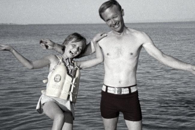 Robert Berchtold and Jan Broberg