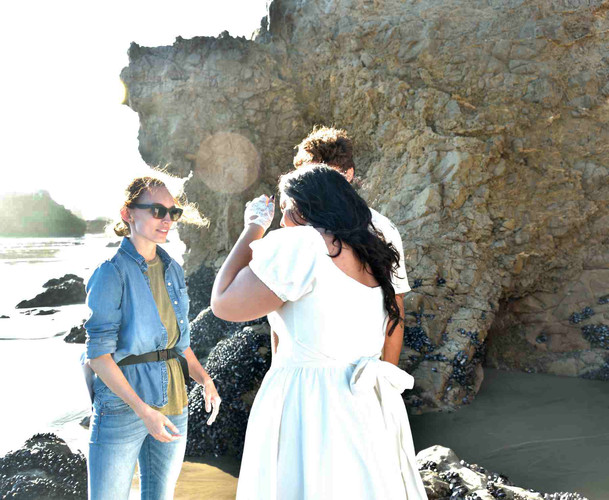 TAKING DIRECTION AT EL MATADOR BEACH