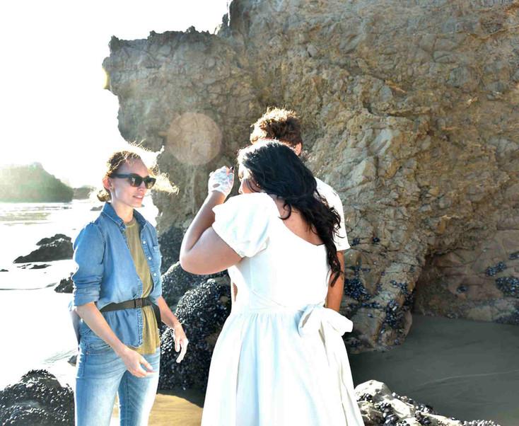 TAKING DIRECTION AT EL MATADOR BEACH