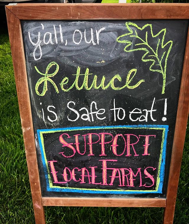 Support local farms and producers this S