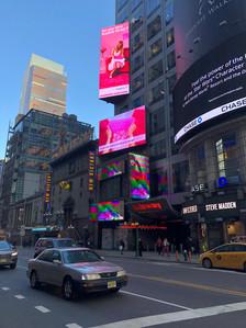 Times Square Billboard for Bubble Wrap