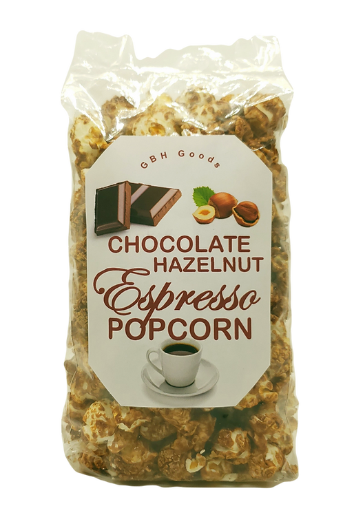 Chocolate Hazelnut Espresso Popcorn