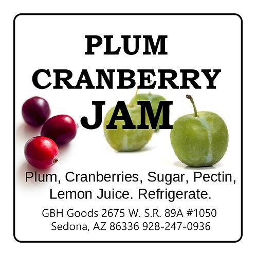 Cranberry & Plum Jam