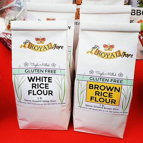 100% White Rice Milled Flour