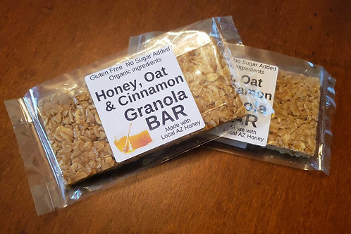 Honey, Oat & Cinnamon Granola Bar