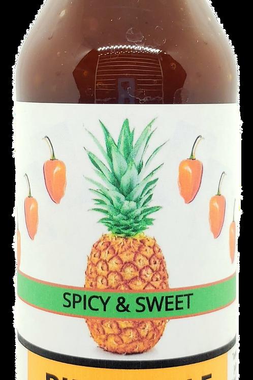 Pineapple Habanero BBQ Sauce