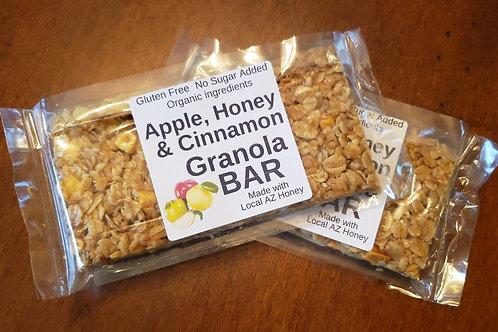 Apples, Honey & Cinnamon Granola Bar
