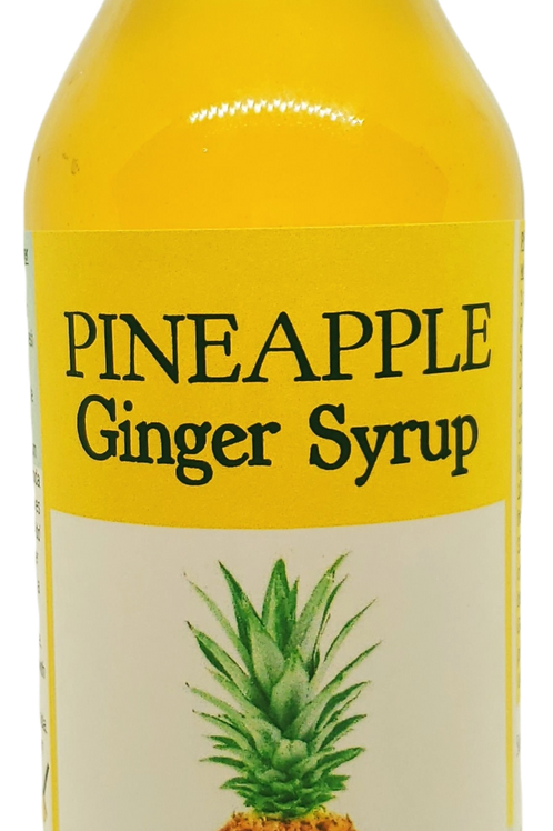 Pineapple Ginger Syrup