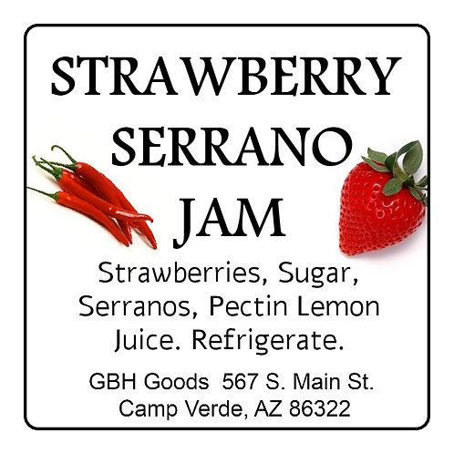 Strawberry Serrano Jam