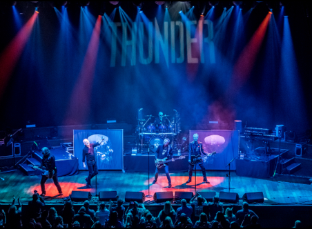 Inside rock band Thunder: an interview with the lead singer Danny Bowes.