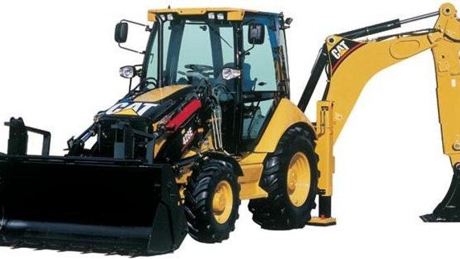 Caterpillar 428E 4x4