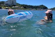 姪っ子と海水浴