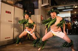 タヒチアンダンス男性