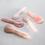 Thumbnail: CJB Rose Quartz Facial Massage Sculpting Spoon