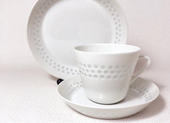 ARABIA アラビア Rice Porcelainライスポーセリン トリオ