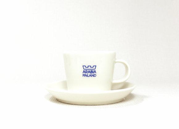 ARABIA アラビア KoKo ココ White ホワイト デミタス カップ&ソーサ―