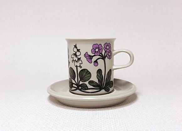 ARABIA アラビア Flora フローラ コーヒーカップ&ソーサー