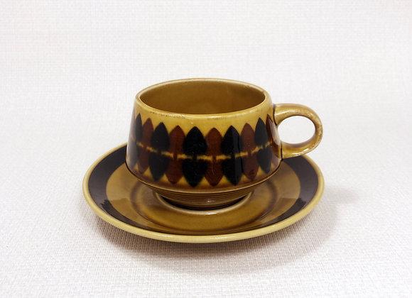 ARABIA アラビア Motti モティ コーヒーカップ&ソーサー B