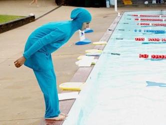La piscine version Charia...