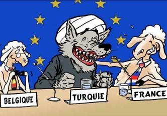 Le chantage turc