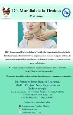 Día Mundial de la Tiroides