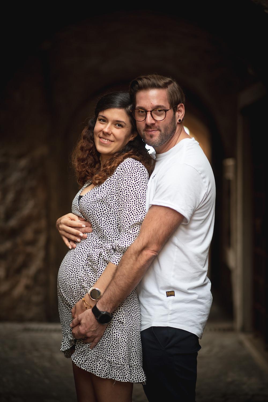 lago di garda fotografo gravidanza