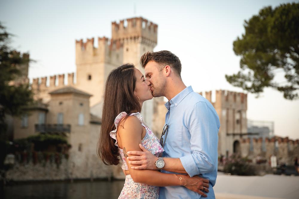 proposta  di matrimonio sirmione, lago di garda