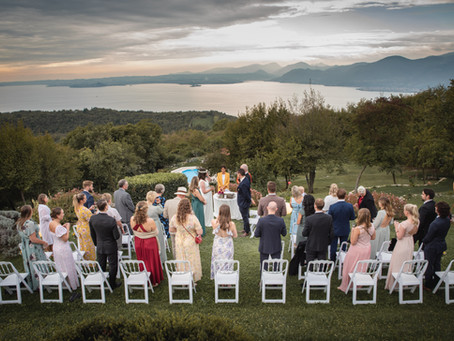 Matrimonio a La Casa degli Spiriti , monte baldo, servizio fotografico a Torri del Benaco.